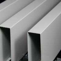 木纹u型铝方通吊顶 广州铝方通厂家