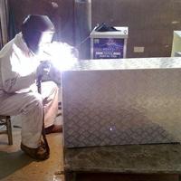 汽车铝合金零部件+焊接+折弯