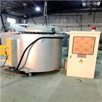 600公斤熔铝炉 广东坩埚熔铝炉厂家