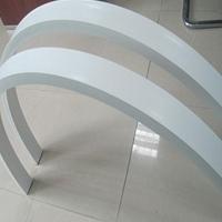 门头外墙铝方通-造形铝方通-弧形铝方通