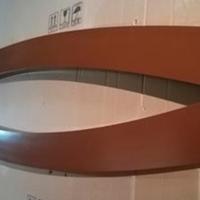 波浪铝方通-波浪造型铝板-波浪形铝条板厂家