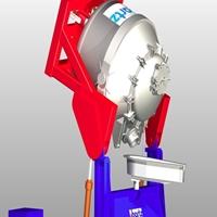Castofix-新型可移動爐體傾動裝置