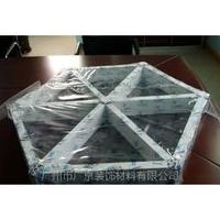 三角形铝格栅吊顶_三角形铝格栅吊顶价格