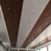 广汽本田汽车4s店天花装饰铝单板吊顶高端