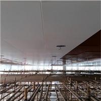 广汽4S店防木纹铝板-勾搭白色吊顶板