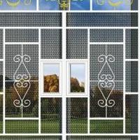 供庭院仿古铝窗花-铝护栏-铝挂落价格厂家