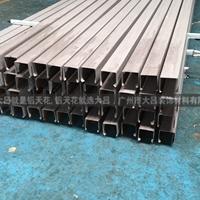 厂家生产方管铝型材 铝方管 异型铝方通