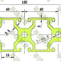 工业流水线设备框架等专用40120