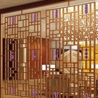 质量最好的木纹铝窗花 铝花格 建筑防盗网