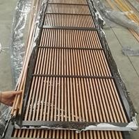 1010mm方形铝管材 木纹铝方管