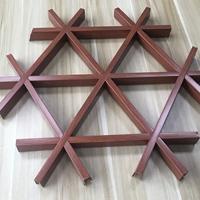 三边形六角型铝质防火格栅
