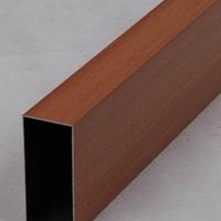 流行款木紋轉印鋁方管 鋁方管工廠直銷
