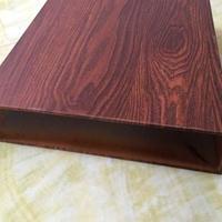 热转印木纹铝方管售价多少钱