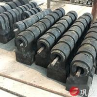 全國熱賣耐磨破碎機錘頭鉻合金錳鋼配件