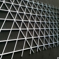 条形铝合金格栅天花 全国发货铝格栅天花