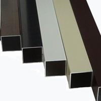 质量硬铝方管天花 铝型材定制凹型铝方管