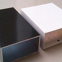 白色喷涂50x50型材铝方管生产