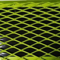加工定制铝拉网天花吊顶  格子拉网铝板