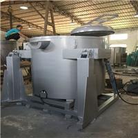 翻转式电熔铝炉 可倾斜式铝合金熔炼炉