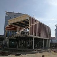 朝阳木纹铝方管德普龙建材合作厂家