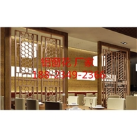 艺术镂空雕花板-雕花焊接型材铝窗花幕墙