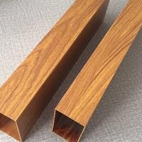 木紋色鋁方通_仿生態木鋁方通