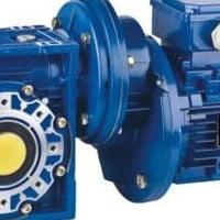 NMRV050渦輪蝸桿減速機1比10配1.5KW電機