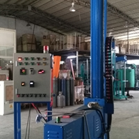 固定式铝液除气除氢除渣机
