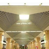 铝格栅吊顶天花、铝合金外墙型材装饰铝方通