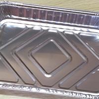 221铝箔打包盒 烤牛肉航空餐盒