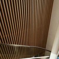 热转印型材木纹铝方通幕墙装饰亮点