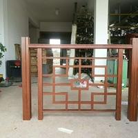 新裕东厂家供应栏杆,花格,楼梯扶手铝型材