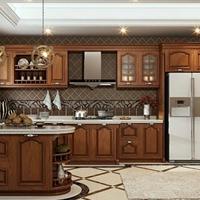 全铝整体厨房橱柜铝材