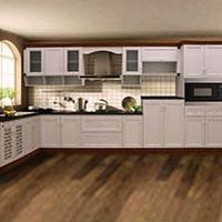 山西铝合金橱柜铝材 全铝家居型材