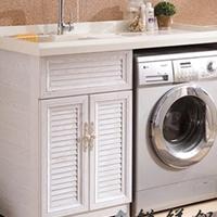 全铝洗衣机柜定制 锐镁全铝家具全屋定制