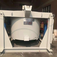 广东翻转式铝锭熔炼炉 坩埚式熔炉