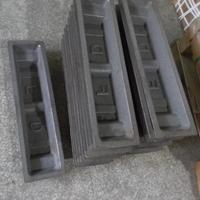 广东铝锭槽生产厂家 供应铝锭模具