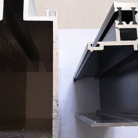 精研铝材120系列明框幕墙型材
