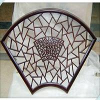 优质铝管焊接冰裂纹窗花定制厂家