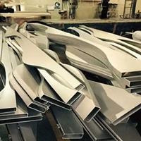 室内装饰造型铝方通_弧形木纹铝方通吊顶