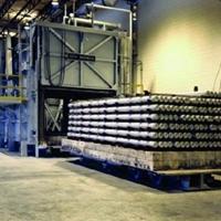 廣東鋁棒均質爐 臺車式加熱爐