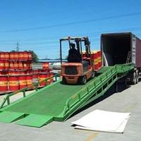 8吨移动登车桥 年夜冶市移动装卸过桥价钱