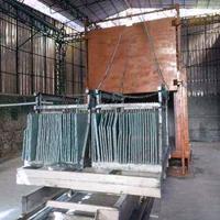 云浮100平方石材电解炉 新疆红加热改色炉