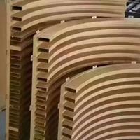 弧形铝天花-艺术铝方通吊顶厂家