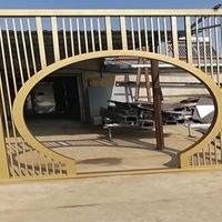 佛山木纹铝窗花 铝合金型材铝窗花厂家