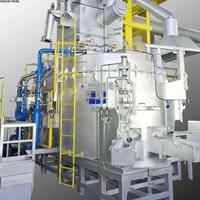 铝锭铸造设备 废铝熔化炉