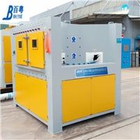 转盘式铝件喷砂机特点连续多工位喷砂机原理