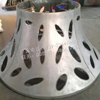 铝幕墙板 铝艺术造型冲孔板 铝弧形板