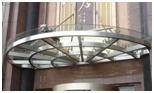 玻璃雨棚鋼結構鋁板雨棚設計施工