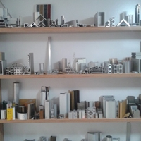 幕墙铝材 办公隔断铝型材